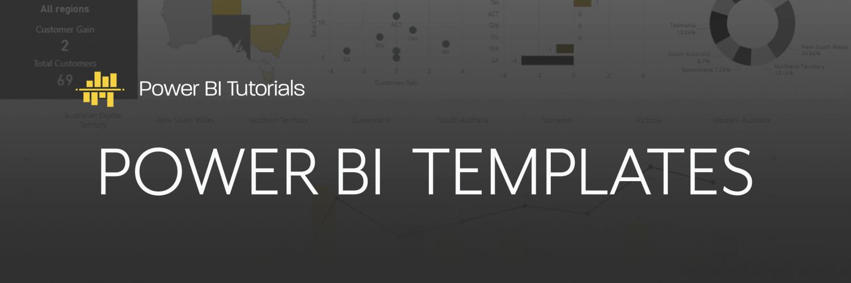 Power BI Templates - Power BI Tutorials & How To